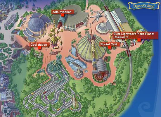 Les menus des Fast food et restauration rapide à Disneyland Paris 848460Discoveryland1