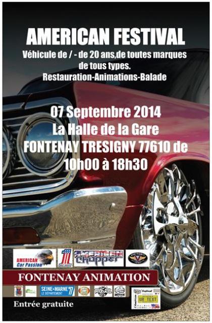 American Festival Fontenay-Tresigny 07/09/2014 848542fontenay
