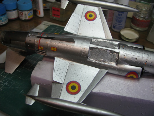 DUO: F-104N (NASA) + F-104G (BAF) Hazegawa 1/48  - Page 2 849217IMG7171