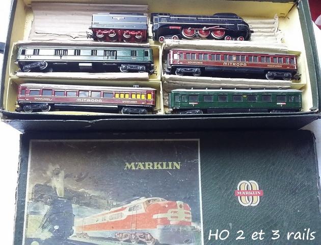 Coffrets Märklin 1936 - 1968 (rouges, noirs, verts ou bleus) 849471MarklincoffretSK8003R
