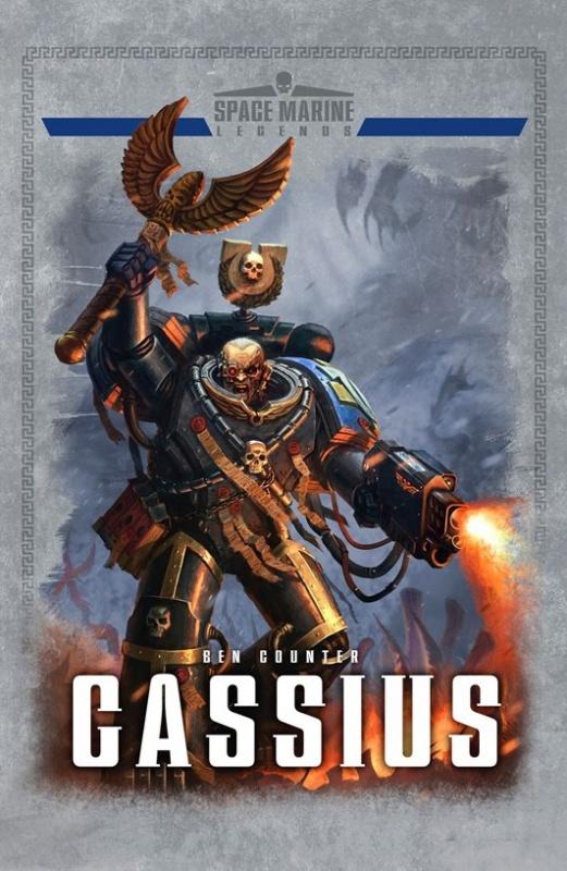 Space Marine Legends: Cassius de Ben Counter 849668dzd