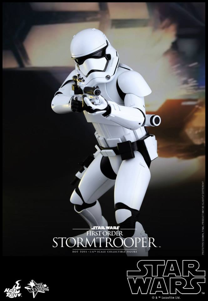 HOT TOYS - Star Wars: TFA -  First Order Stormtrooper 849793102