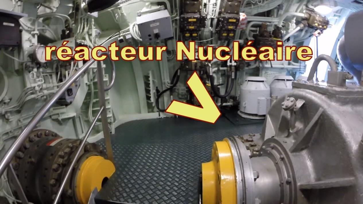 [ Les musées en rapport avec la Marine ] L'Espadon à St Nazaire 850293reacteur
