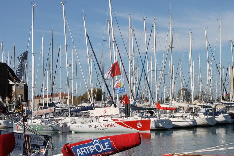 Visite du village et du ponton du Vendée Globe le 25/10/16 850462IMG4482