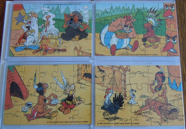 Puzzle kinder Astérix et les Indiens 85077921a