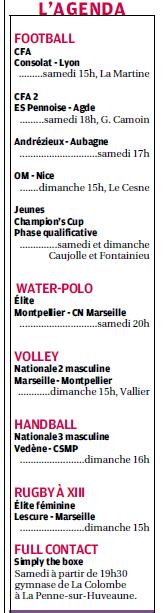 SPORTS DES CLUBS DE  MARSEILLE OU DE SA PERIPHERIE ........... - Page 2 851514487