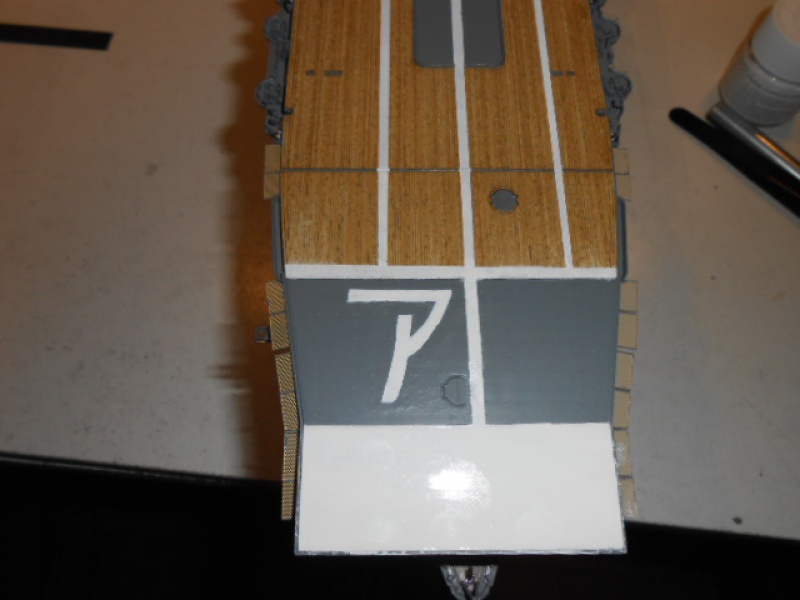 PA AKAGI 1/350 de chez Hasegawa PE + pont en bois par Lionel45 - Page 5 851520Peintureaka019