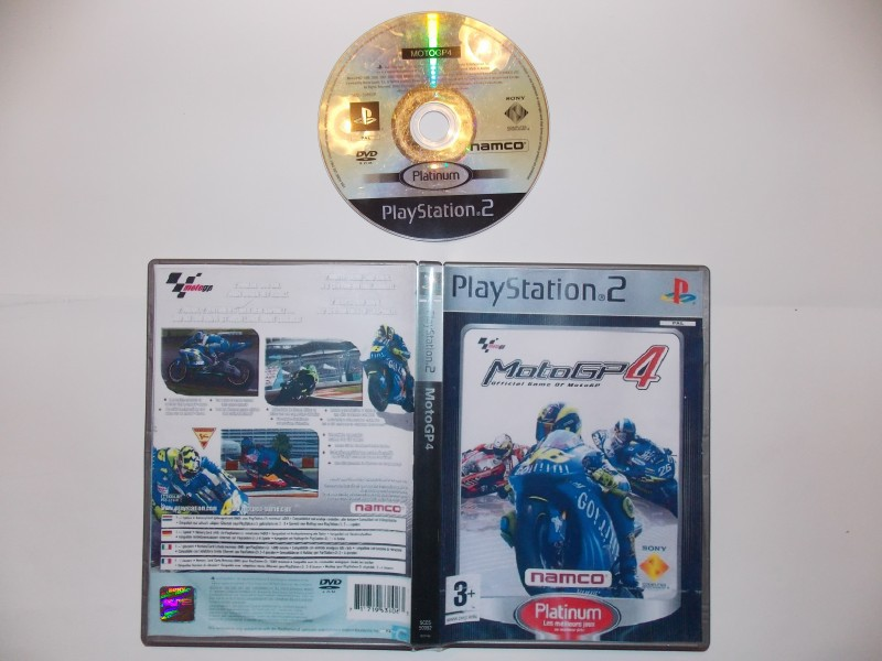 Moto GP4 851547Playstation2MotoGP4Plat