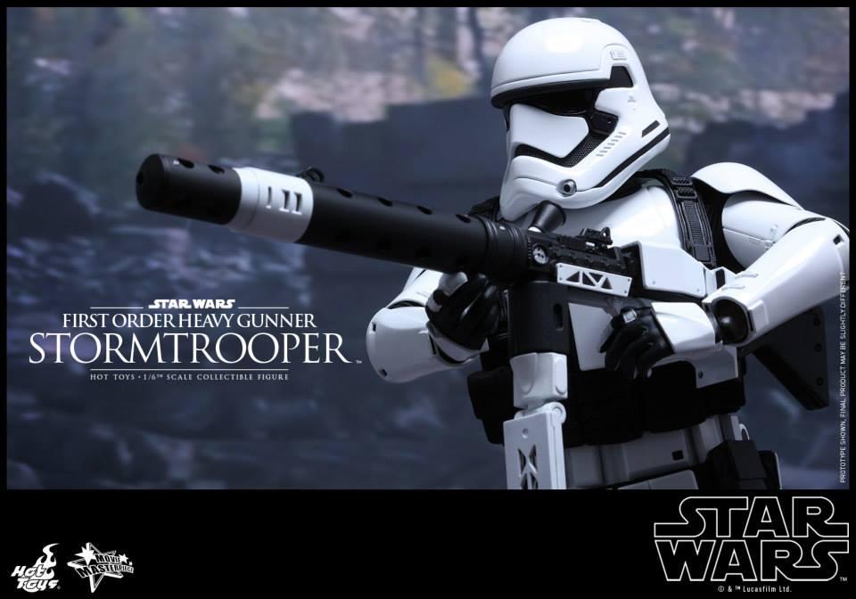 HOT TOYS - SW7: TFA - First Order Heavy Gunner Stormtrooper 852306113