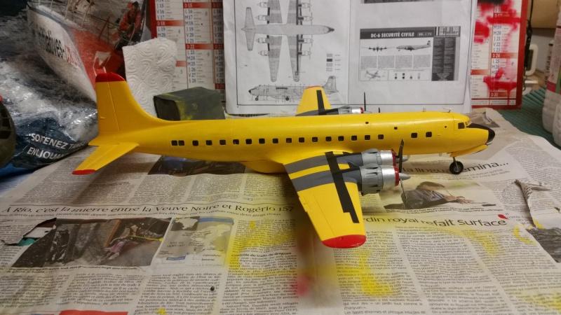 DOUGLAS DC-6B SECURITE CIVILE maquette HELLER au 1/72° - Page 2 85286520171218082414