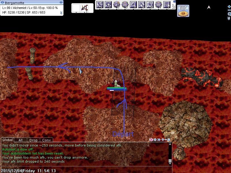 Quête - Pit of Fire 853307trajet01