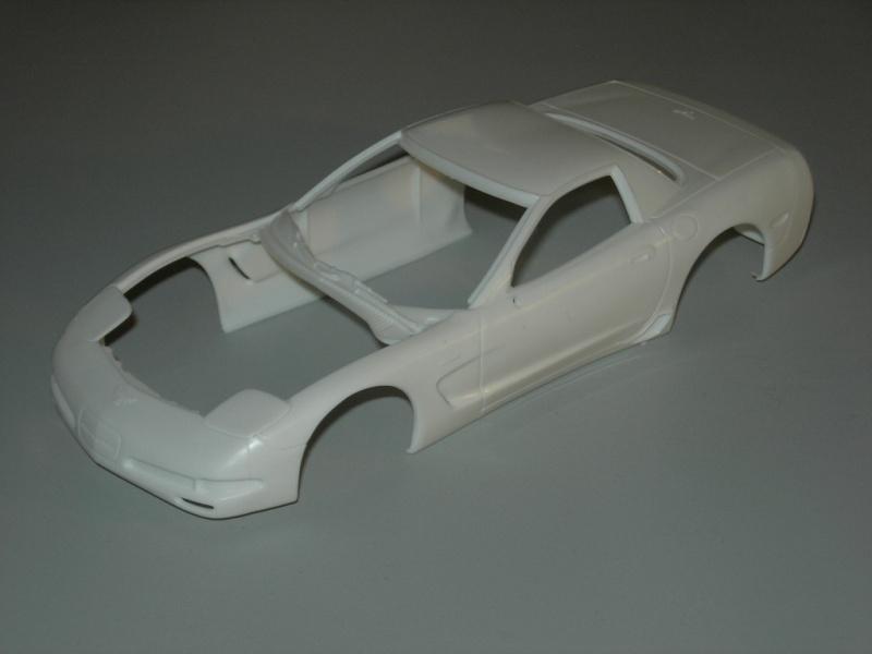 Chevrolet Corvette Z06 2001 Revell. 853445DSCN9099
