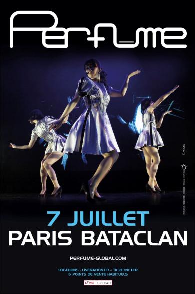 PERFUME en concert au Bataclan (Paris) le 7 juillet 853526PFMbat2