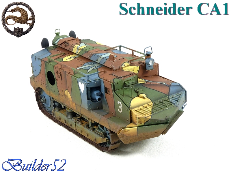 CHAR SCHNEIDER CA 1 - HOBBY BOSS 1/35 853707P1040965