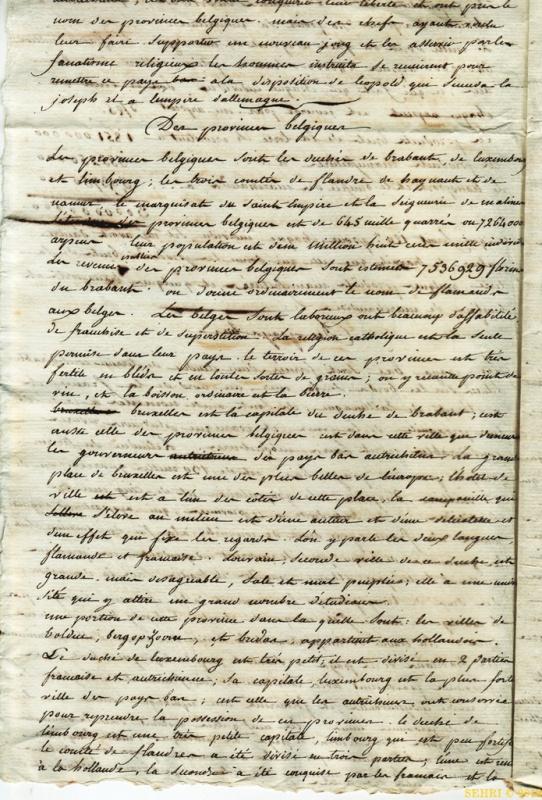 la Belgique de 1789 à 1815 853807SanstitreNumrisation062
