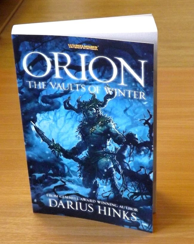 Orion: The Vaults of Winter de Darius Hinks 854294orionbook