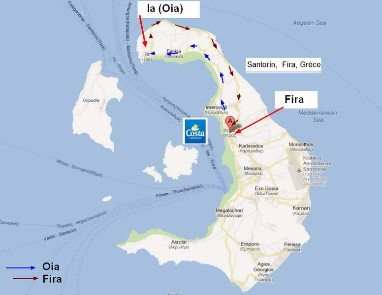Z06 - COSTA / C/R  Mer Egée et Galilée / Grèce, Crête, Israël, Chypre, Turquie !  13-20/09/2012  854405PlanSantorin
