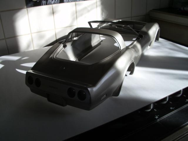 chevrolet corvette 1982 edition collector monogram au 1/8 854515photosmaquettecorvette002