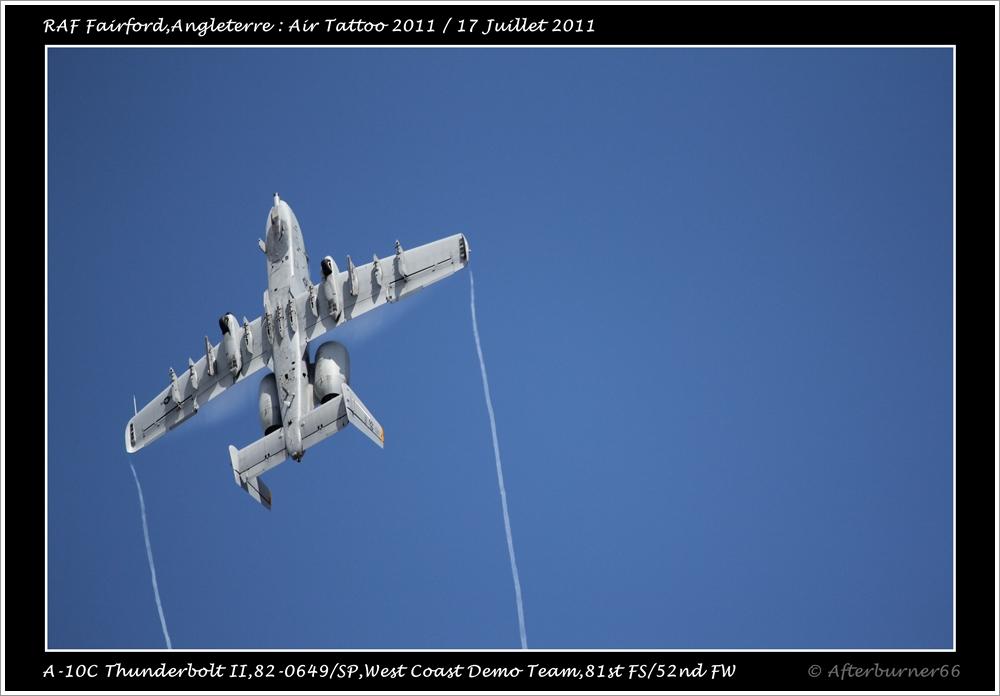 A-10C Thunderbolt II - West Coast Demo Team 855692IMG1590