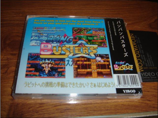 Bang Bang Busters version Neo-Geo CD 857777BBBusterCD2