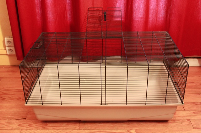 Vends cage Freddy Max 2 + cage Ruffy 2 858506petitecage1