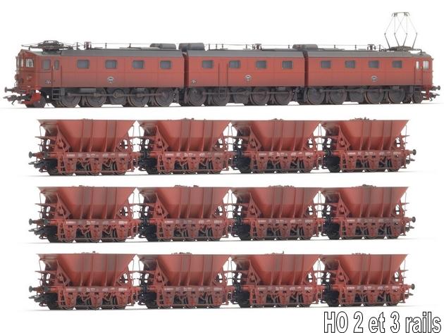 Les machines D/Da/Dm/Dm3 (base 1C1) des chemins de fer suèdois (SJ) 858521Mrklin2680012erzwagendessjsound