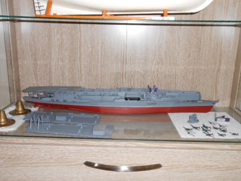 PA AKAGI 1/350 de chez Hasegawa PE + pont en bois par Lionel45 - Page 3 859610pontakagi052