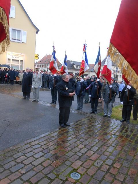Jebsheim : 60 parachustistes du 1er RCP commémorent la libération de la Poche de Colmar 860082183