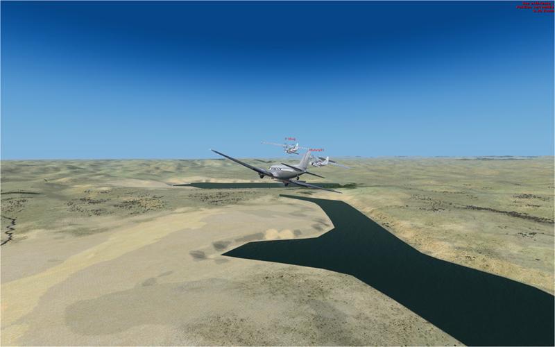 Vol en formation en Afrique (DC3) 8608662013222214447152