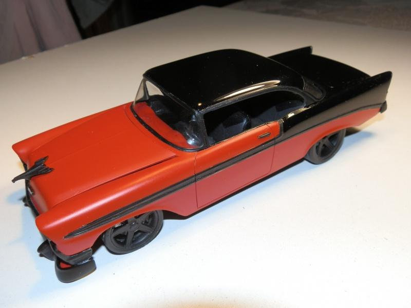 #47 : Chevy bel air 56 custom (TERMINEE) 861308P9305416