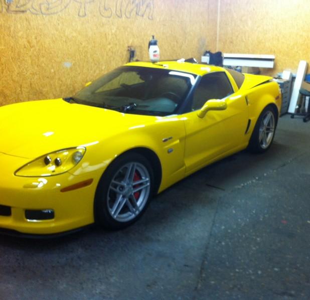 La C6 Z06 jaune ! 861394photo21