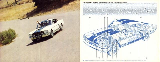 mustang shelby 350 GT 1965  kit monogram 1/24 . 863184pubmustang350gt2