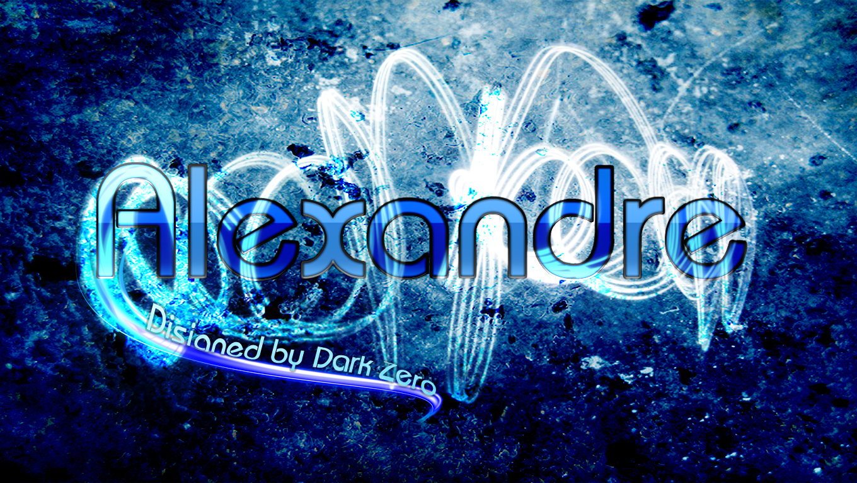 DarkZero Design' 863544Alexandrebleu