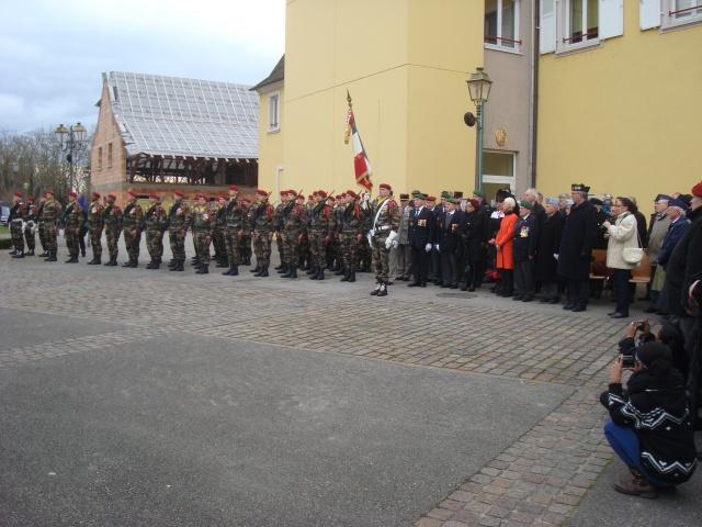 Jebsheim : 60 parachustistes du 1er RCP commémorent la libération de la Poche de Colmar 864012058