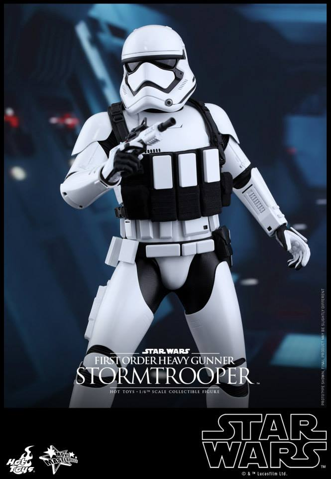 HOT TOYS - SW7: TFA - First Order Heavy Gunner Stormtrooper 864383110