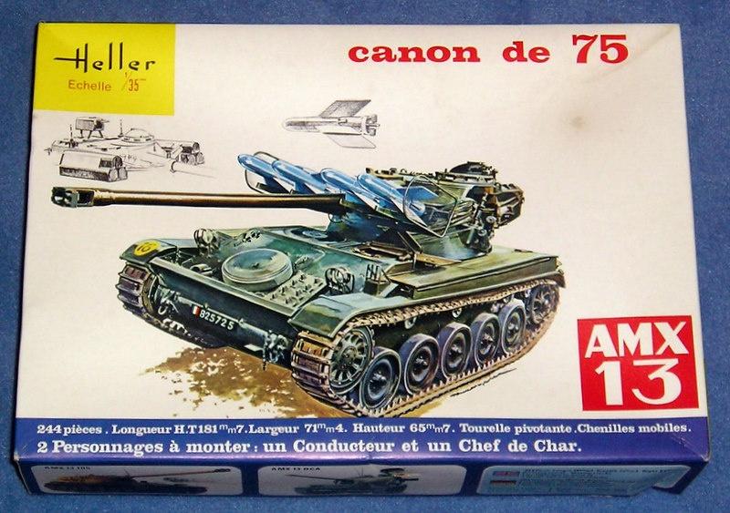 AMX 13 canon de 75 - (Réf. L784) 1/35 864568AMX1375784001Heller135