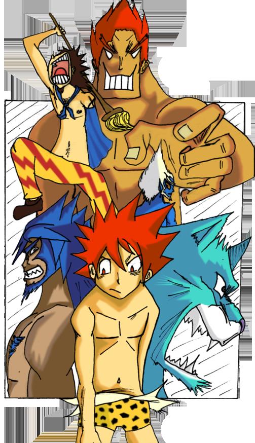 """Les """"dessins"""" de Tenshi - Page 2 864777Terrenceetciecolorv3redi"""