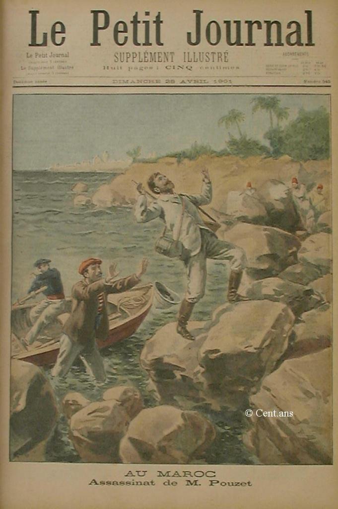 صفحات من تاريخ المغرب الحديث من خلال Le Petit journal illustré 865406pj54526041901