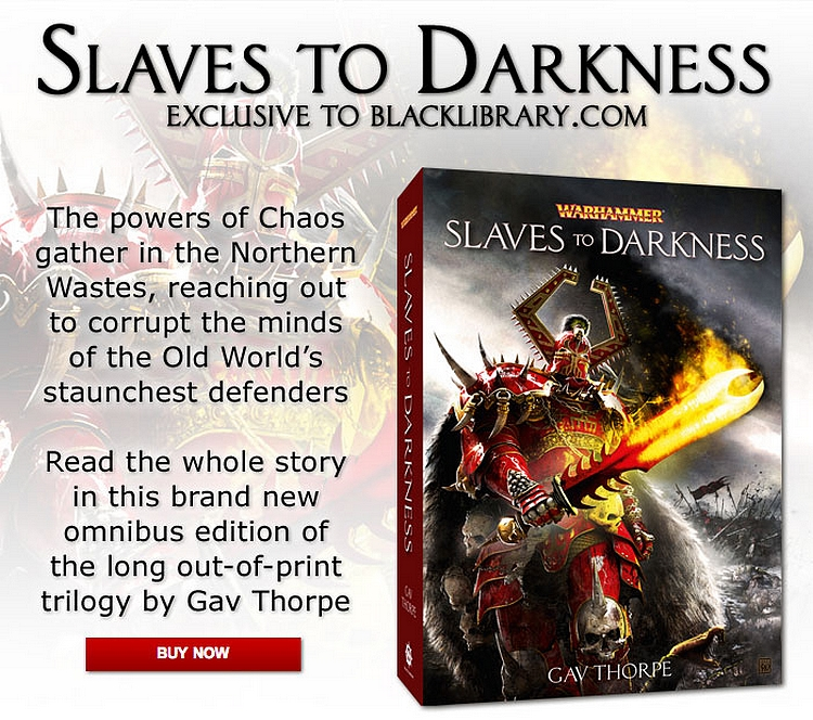News de la Black Library (France et UK)- Part.2 - 2012 867478slavetodarkness
