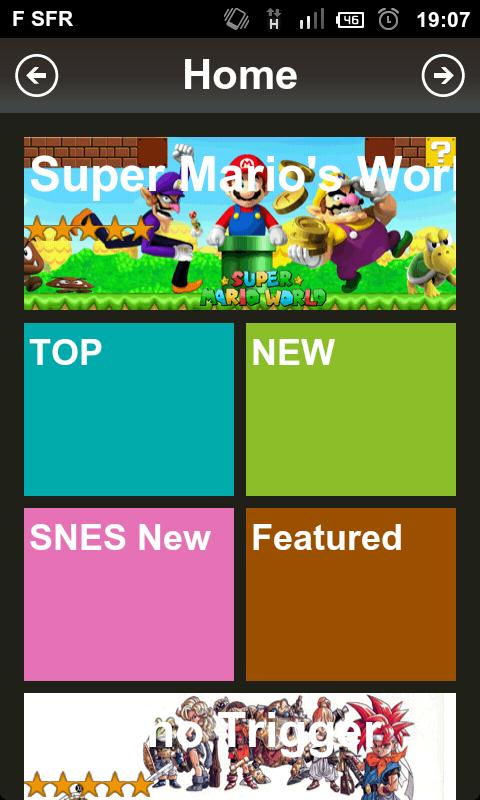 [JEUX] HAPPY BAY: une application permettant de rejouer aux jeux de SNES,NEOGEO... [Gratuit] 869355shot000003