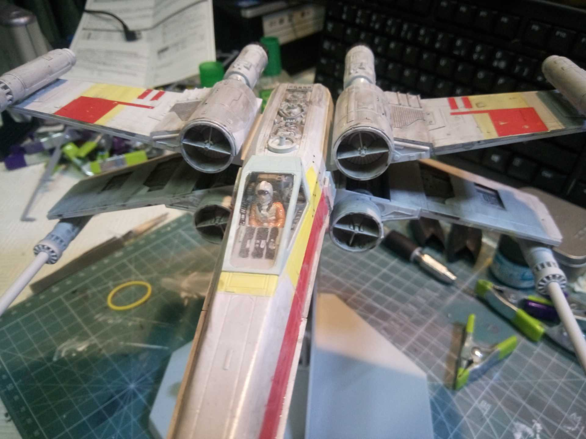 X-Wing 1/48 (Finemolds) RED 2 (montage) - Page 2 871750XWING21