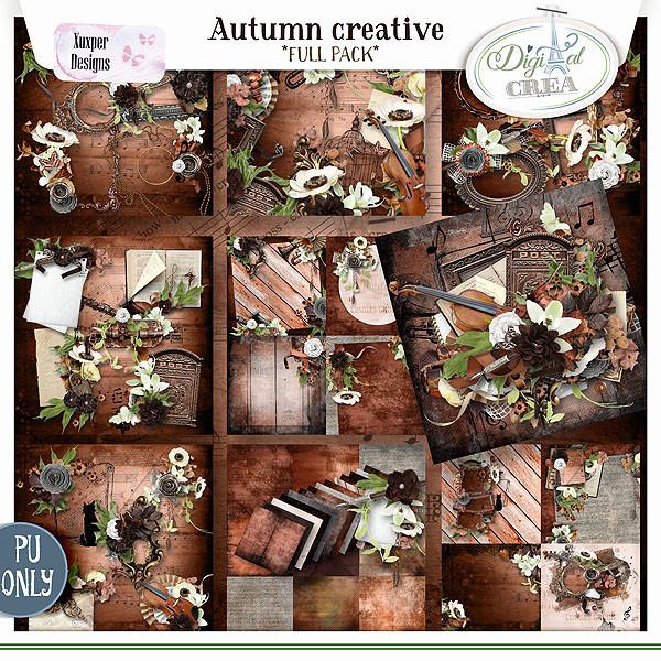 Collection Autumn creative de Xuxper Designs + Promo 8718025110