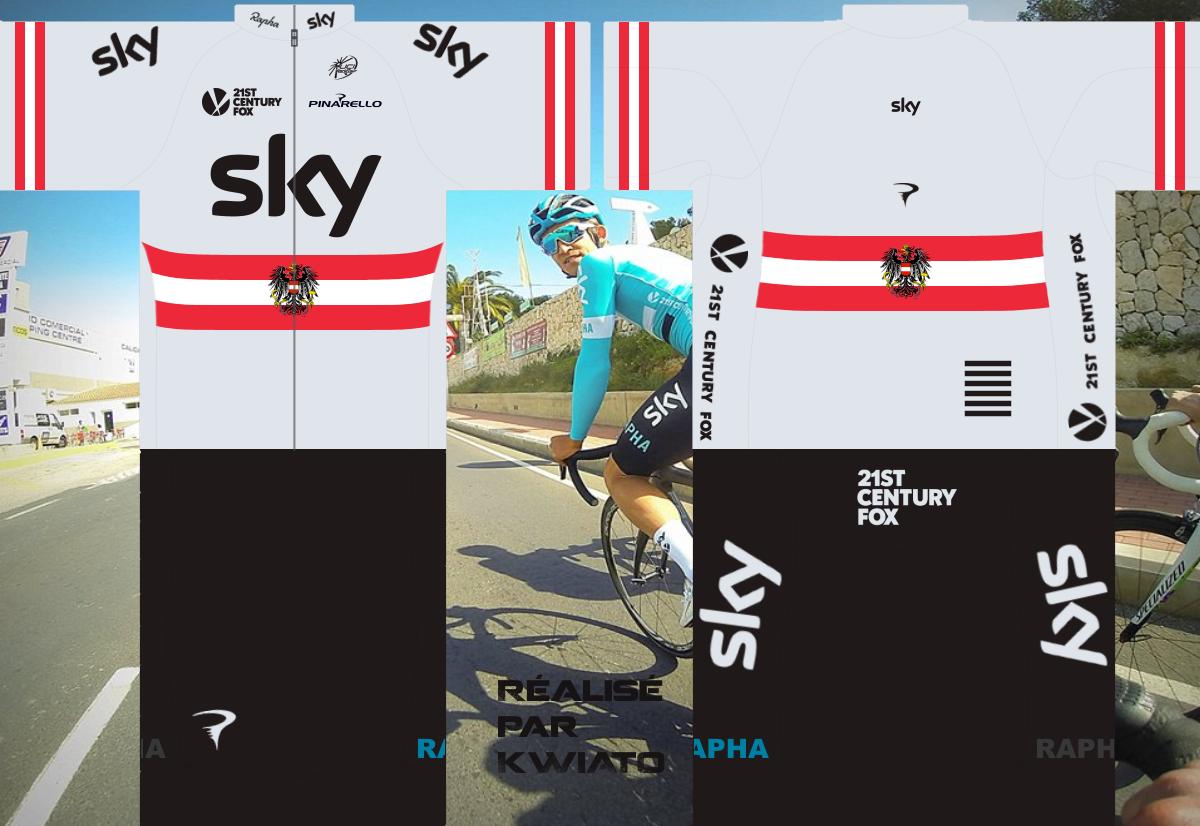 SKY Pro Cycling 872358skymaillotaut
