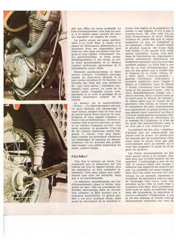 "MOTO cyclisme n°31 - BSA B50SS ""Gold Star"" 874738IncontestablementB50page003"