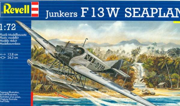 Un Junkers F13 en pantoufles en Amérique du sud : Dio... 874912revellF132