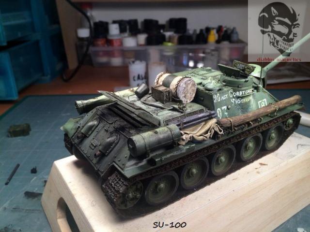 SU-100 marque Dragon 1/35 - Page 2 877185IMG3910