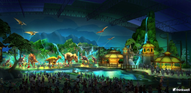 (Chine) Jurassic Dream Theme Park (2014)  877424JD11