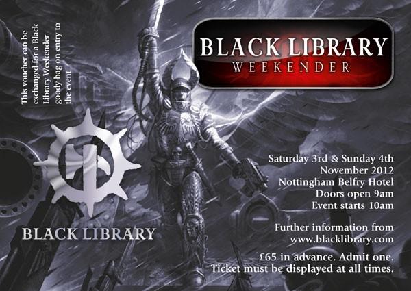 News de la Black Library (France et UK) - 2012 877714ticket2012weekendersilver
