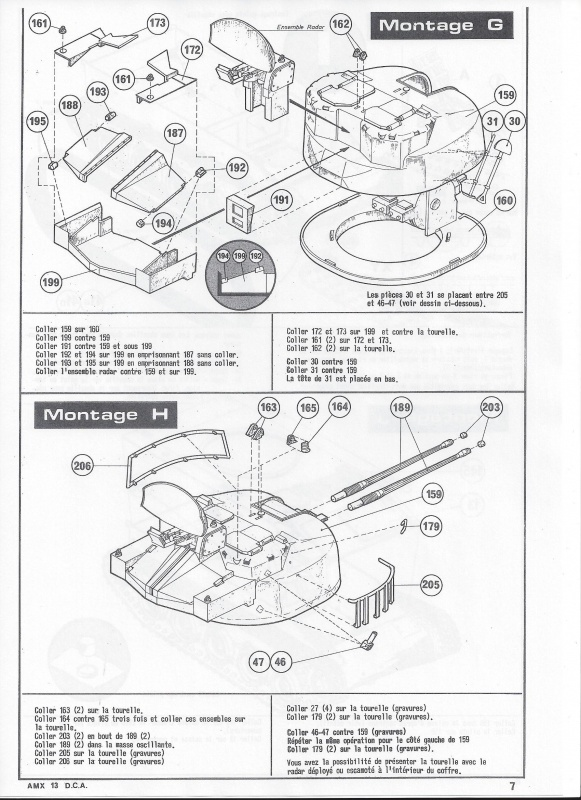 AMX 13 DCA - (Réf. L783) 1/35  878576AMX13DCA783008Heller135