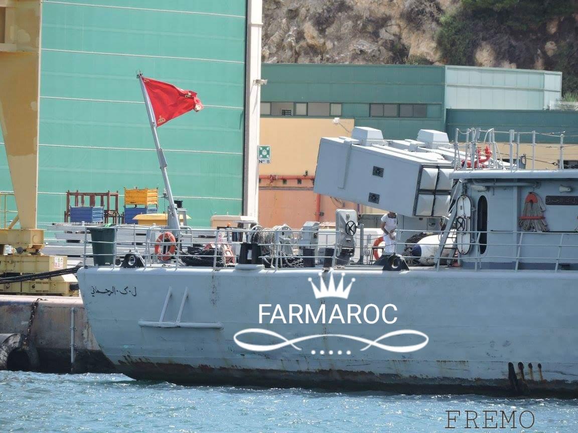 Royal Moroccan Navy Descubierta Frigate / Patrouilleur Océanique Lt Cl Errahmani - Bâtiment École - Page 3 87935620180104105330